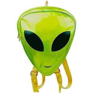 Alien Festival Mini Backpack UFO Rave Holographic